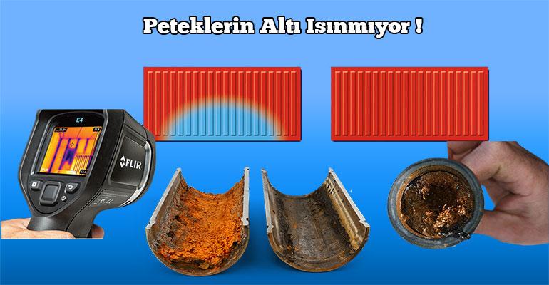 Petek Temizleme , Cihazlarımız ve Kimyasallı Sistemlerimiz ile Isınmaya engel olan Kireç ve Tortudan kaynaklıdır.